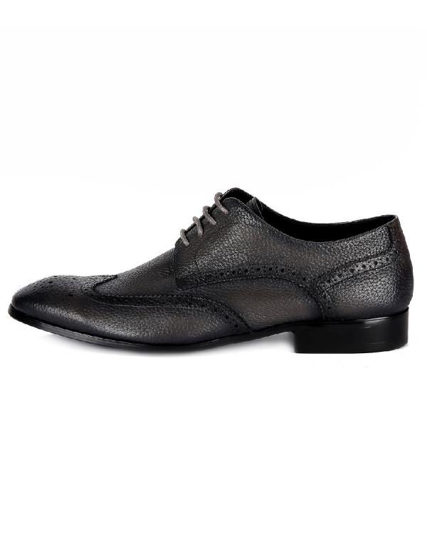 Туфли мужские арт. 04-D468-G600-2 т.серый