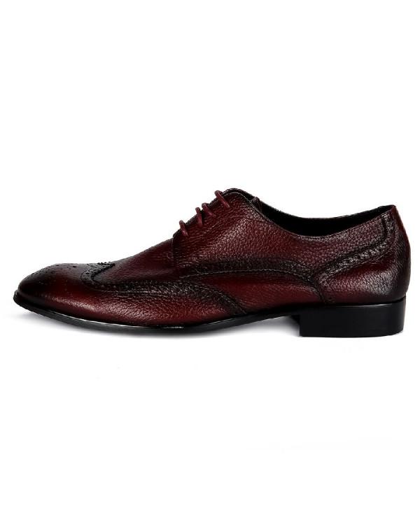 Туфли мужские арт. 04-D468-G600 бордо