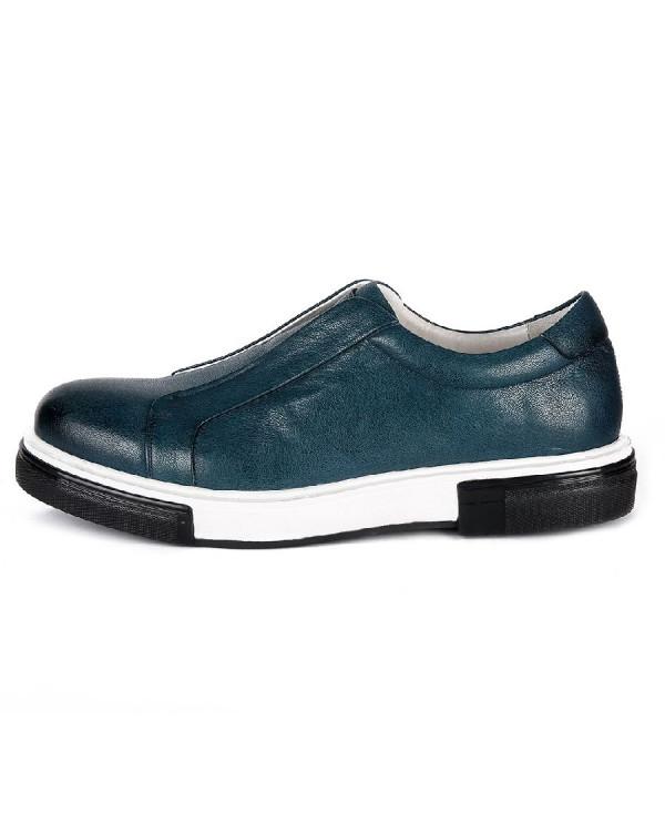 Туфли мужские арт. 04-D476-640 т.синий