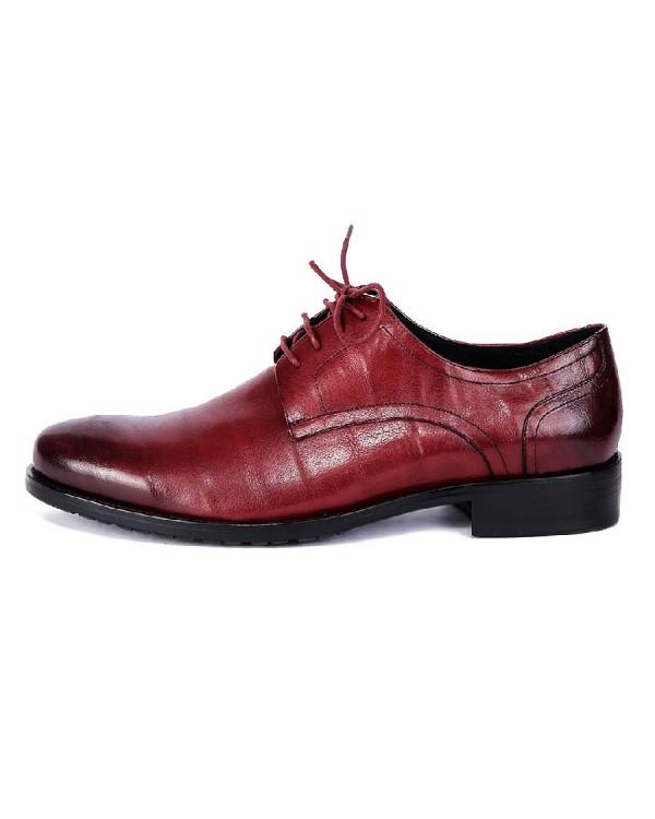 Туфли мужские арт. 04-D456-007 бордовый