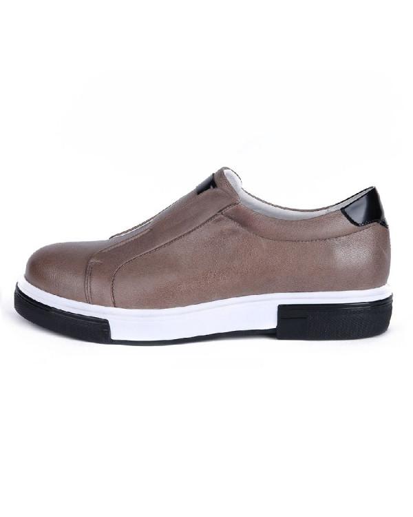 Туфли мужские арт. 04-D476-640-3 бежевый