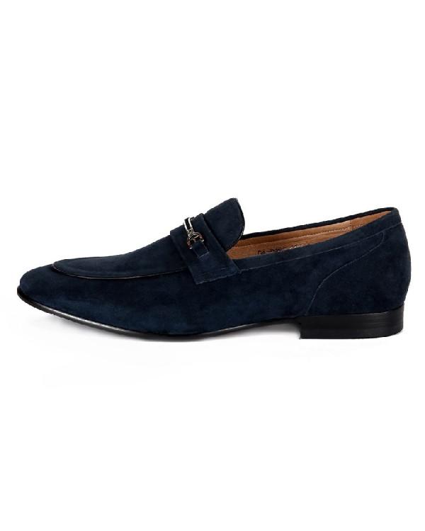 Туфли мужские арт. 04-D482-002-1 т.синий