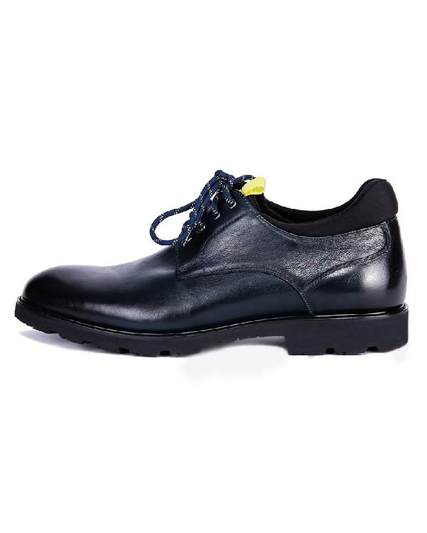 Туфли мужские арт. 04-D506-8620-1 т.синий
