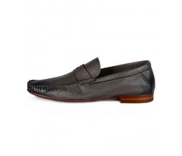 Туфли мужские арт. 04-D509-T002 т.серый