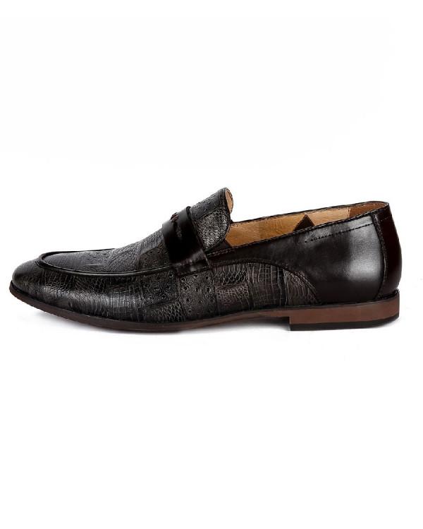 Туфли мужские арт. 05-E07-908-N446A т.серый