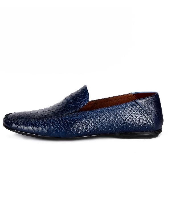 Туфли мужские арт. 05-E10-69-A727 т.синий