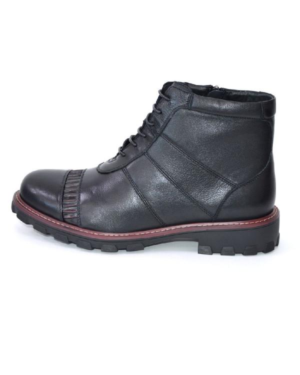 Ботинки мужские арт. 14-A1006-9A-H459-1 бордовый