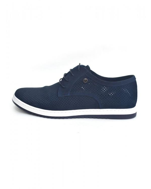 Туфли мужские арт. 14-F195-1N-H528-1 синий