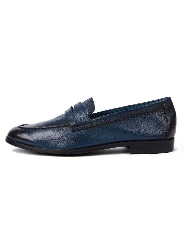 Туфли мужские арт. 14-F322-2B-H556 синий