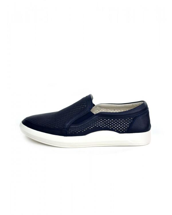 Туфли мужские арт. 14-F370-6B-H620 синий