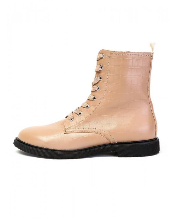 Ботинки женские арт. 22-01-2505 бежевый