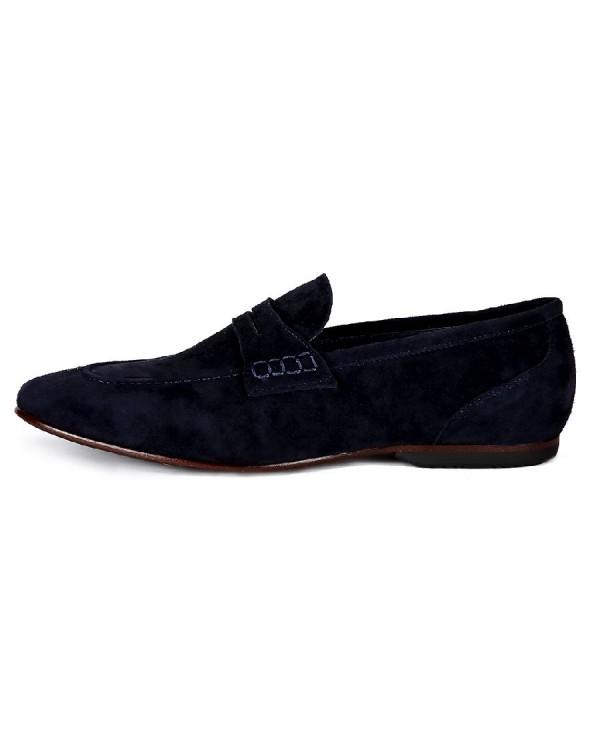 Туфли мужские арт. 22-70-2015 т.синий