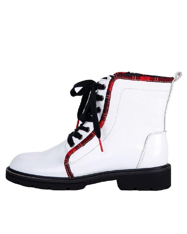 Ботинки женские арт. 22-72-2157 белый
