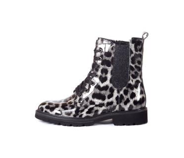 Ботинки женские арт. 22-92-01 серый/чёрный