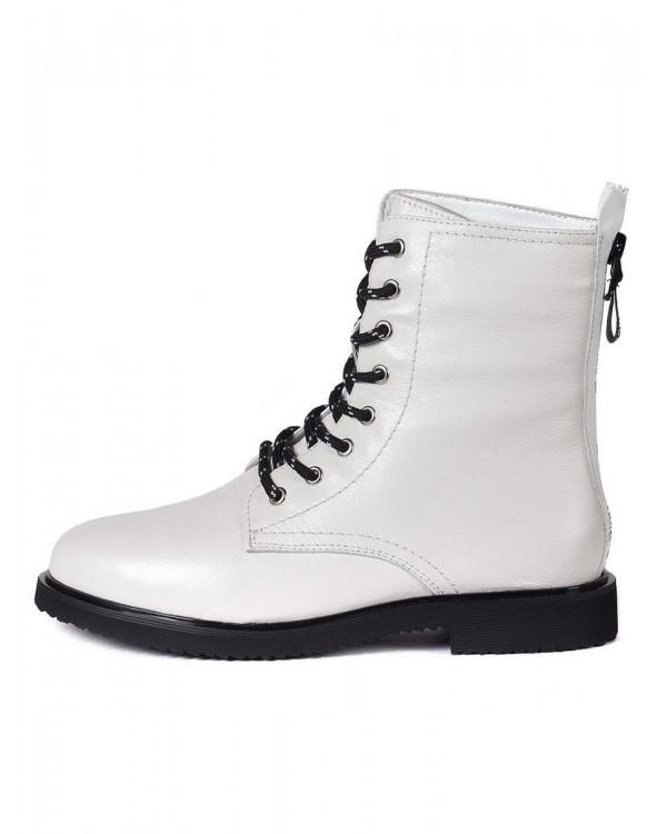 Ботинки женские арт. 22-93B-2333 бежевый