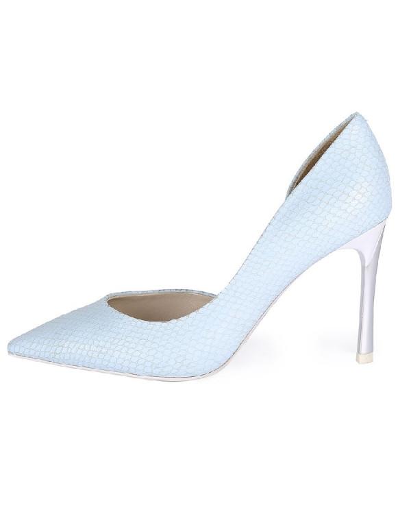 Туфли женские арт. 26-17P06-5-3 св.голубой