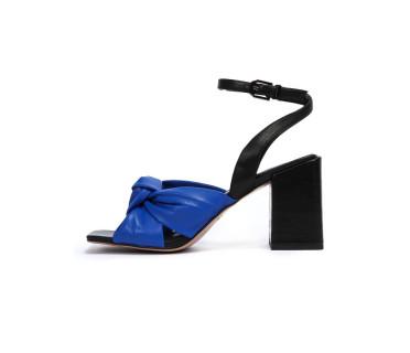 Berta босоножки женские арт. 26-TYL363-8-4 синий/чёрный