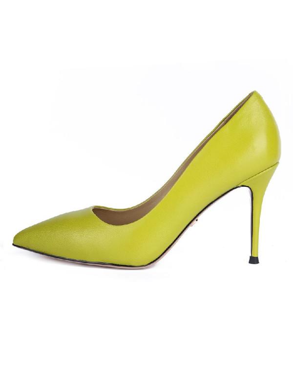 Туфли женские арт. 26-TYP85-5-10 лайм