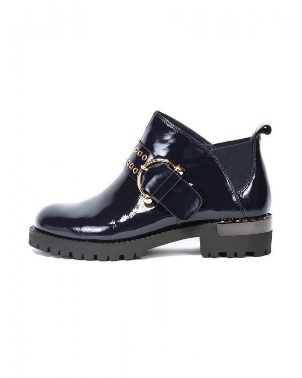 Ботинки женские арт. 27-H8170A-3426-Q200SL т.синий
