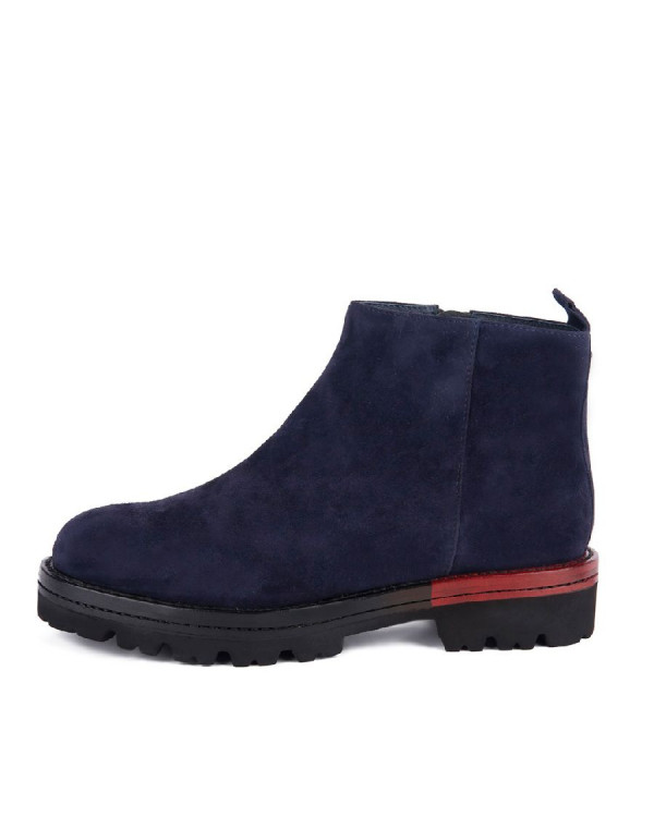 Ботинки женские арт. 27-H8229-4426-J103SL т.синий