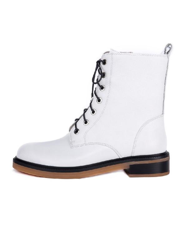 Ботинки женские арт. 27-H8238-473-N358B белый