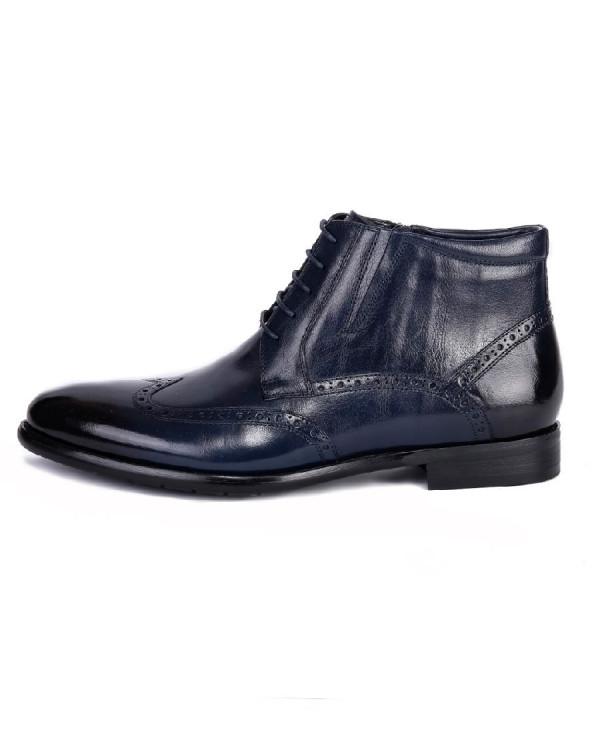 Ботинки мужские арт. 38-S556-1-435M т.синий