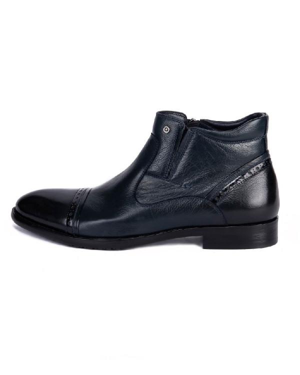 Ботинки мужские арт. 38-S600-5-423R т.синий