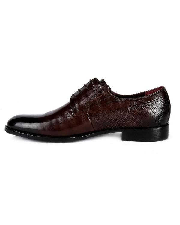 Туфли мужские арт. 38-Y321-3-433 коричневый
