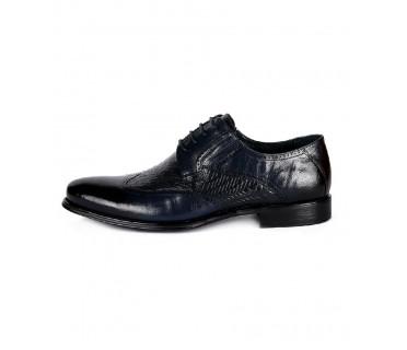 Туфли мужские арт. 38-Y368-29-435 т.синий