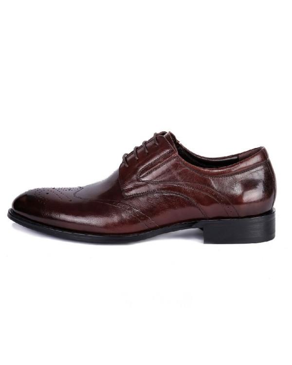 Туфли мужские арт. 38-Y559-19-433 т.коричневый