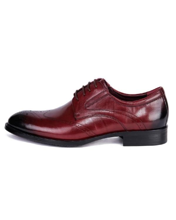 Туфли мужские арт. 38-Y559-19-495 бордовый