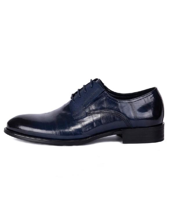Туфли мужские арт. 38-Y559-5-435 т.синий
