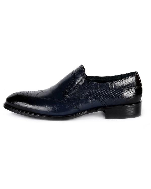 Туфли мужские арт. 38-Y559-6-435 т.синий