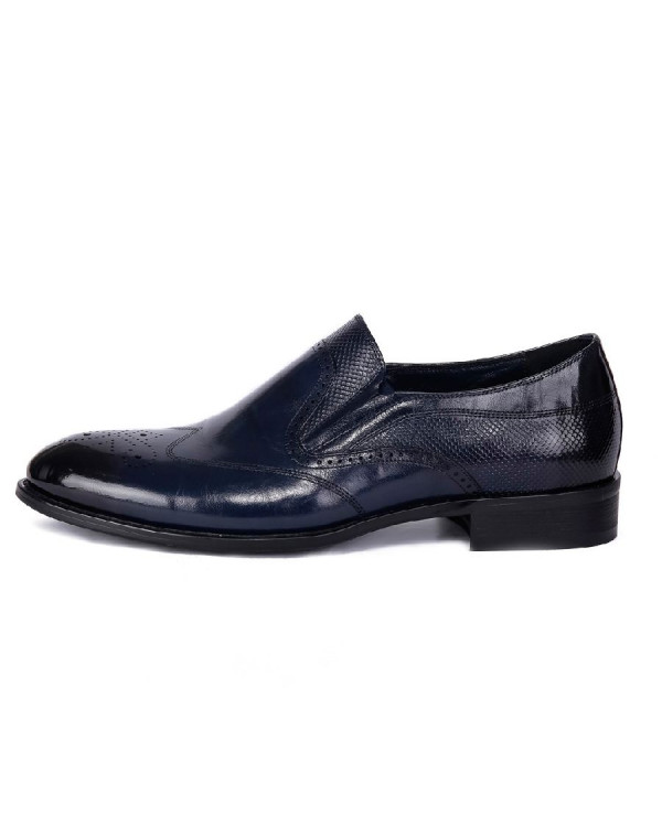 Туфли мужские арт. 38-Y559-6-435 т.синий ос18