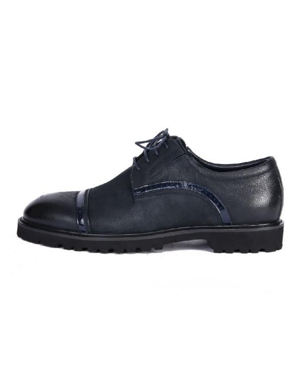 Ботинки мужские арт. 38-Y575-2-352 т.синий