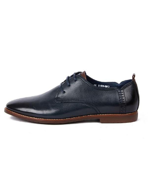 Туфли мужские арт. 39-C186-808-3 синий