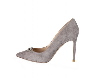 Туфли женские арт. 42-P760-115-12 серый