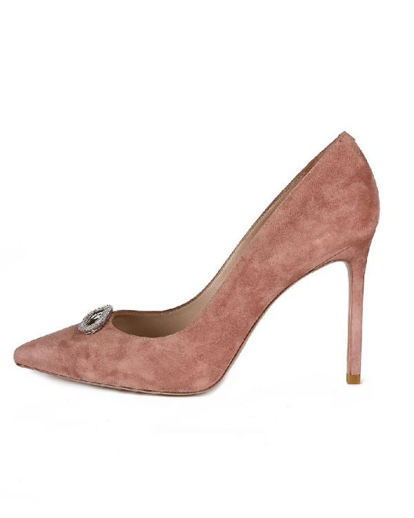 Туфли женские арт. 42-P760-115-18 чайная роза