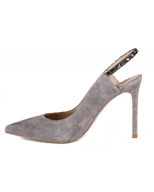 Туфли женские арт. 42-P760-99-12 серый