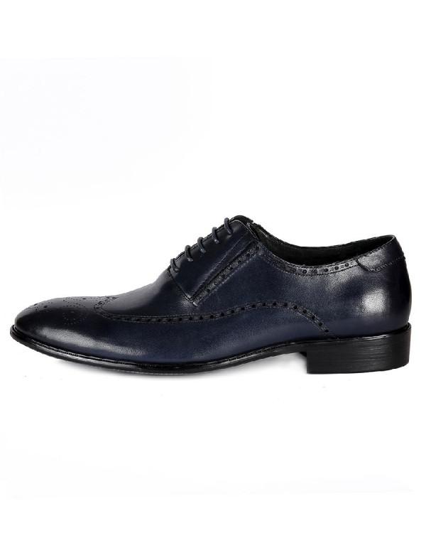Туфли мужские арт. 43-A097-D42-HP4 т.синий