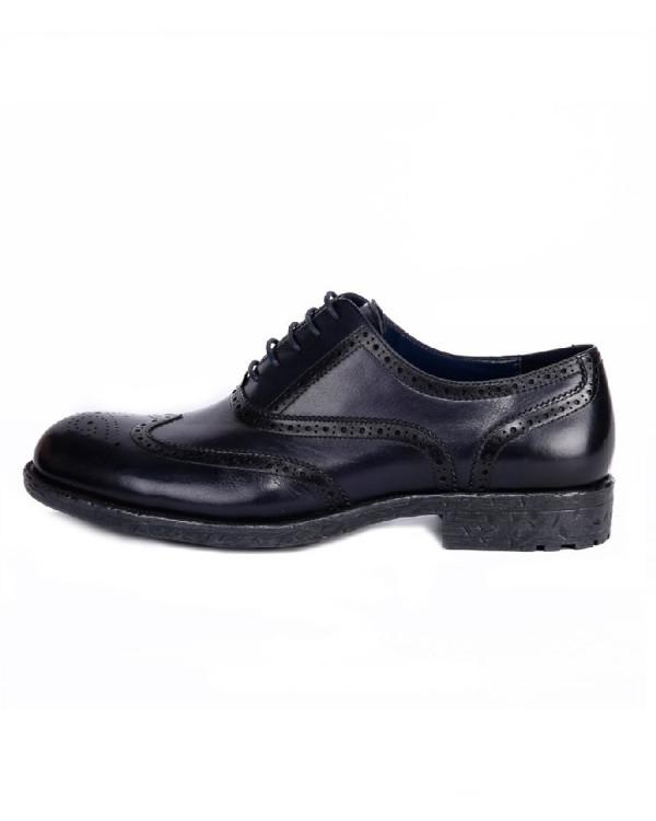 Туфли мужские арт. 43-A281-B1-SW4 т.синий