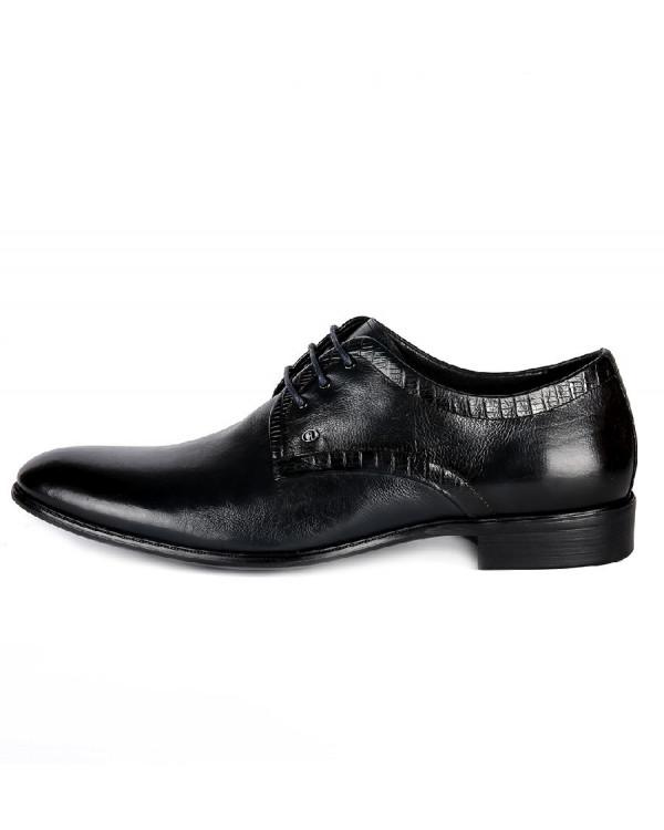 Туфли мужские арт. 43-B044-B81-A124 т.синий