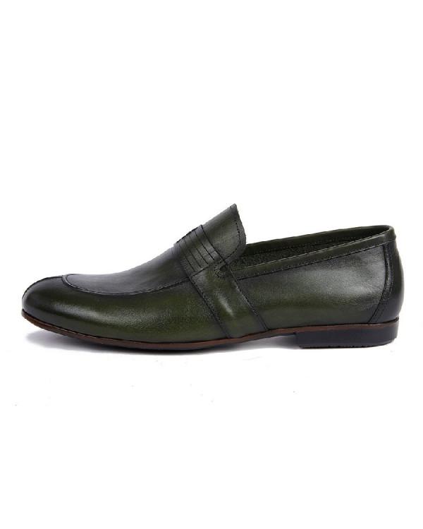 Туфли мужские арт. 43-B220-B24-SW7 зелёный