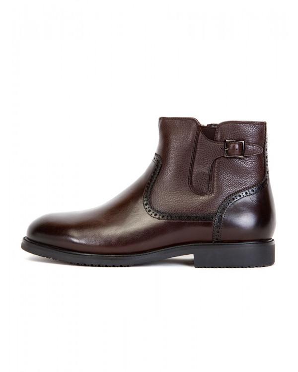 Ботинки мужские арт. 43-HM921-D6-SG5 кофе