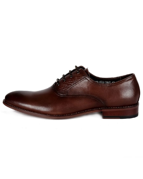 Туфли мужские арт. 44-102A-02A-100P т.коричневый