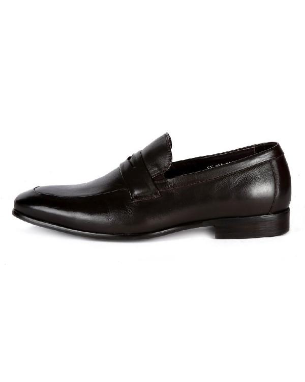Туфли мужские арт. 44-70A-01C-A48 т.коричневый