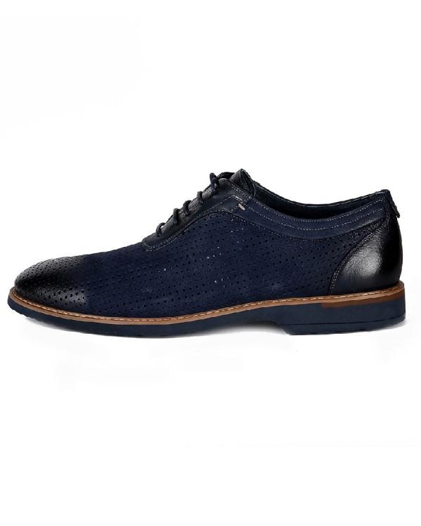 Туфли мужские арт. 46-526-E60501 т.синий