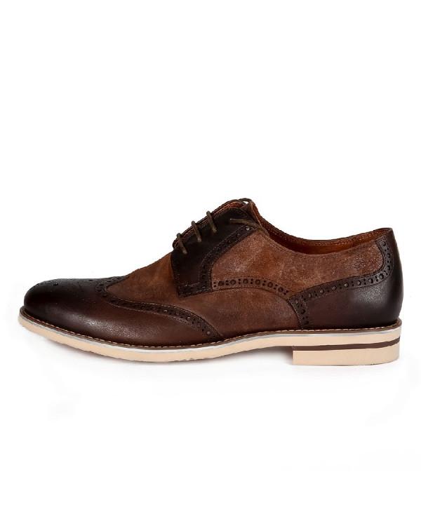 Туфли мужские арт. 46-527-60202 коричневый