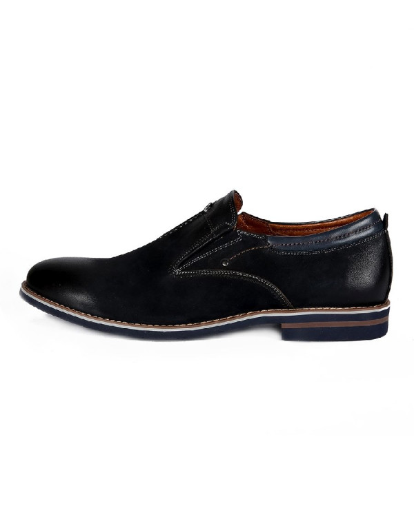 Туфли мужские арт. 46-527-60501 т.синий