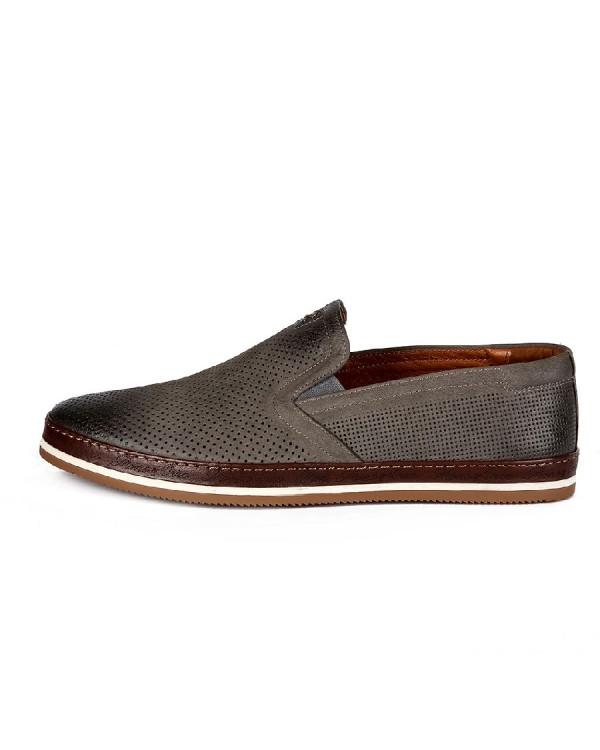 Туфли мужские арт. 46-543-E80302 серый
